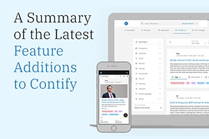Here's What's New With Contify's Market Intelligence Platform · September 2020